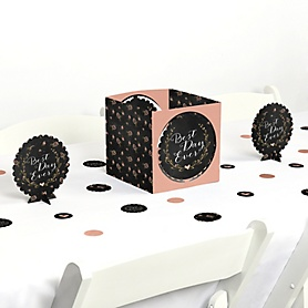 Best Day Ever - Wedding or Bridal Shower Centerpiece and Table Decoration Kit
