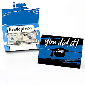 Blue Grad - Best is Yet to Come - Graduation Money Holders - 8 ct.
