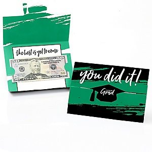 Green Grad - Best is Yet to Come - Graduation Money Holders - 8 ct.