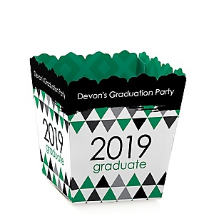 Green Grad - Best is Yet to Come - Party Mini Favor Boxes - Personalized 2019 Graduation Treat Candy Boxes - Set of 12