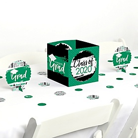 Green Grad - Best is Yet to Come - 2020 Graduation Party Centerpiece & Table Decoration Kit