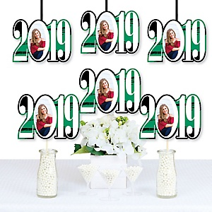 Green Grad - Best is Yet to Come - 2019 Photo Decorations DIY Party Essentials - Set of 20