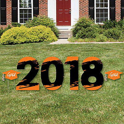 Orange grad best is yet to come 2018 yard sign outdoor lawn orange grad best is yet to come 2018 yard sign outdoor lawn decorations orange graduation party yard signs 2018 bigdotofhappiness solutioingenieria Choice Image