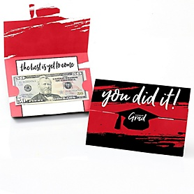 Red Grad - Best is Yet to Come - Graduation Money Holders - 8 ct.