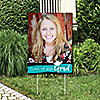 Teal Grad - Best is Yet to Come - Photo Yard Sign - 2019 Turquoise Graduation Party Decorations