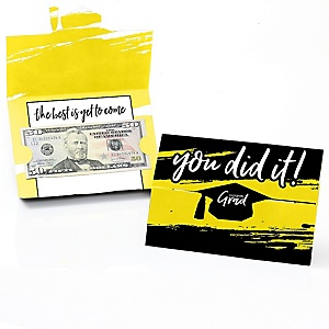 Yellow Grad - Best is Yet to Come - Graduation Money Holders - 8 ct.