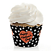 Best Mom Ever - Mother's Day Party Decorations - Party Cupcake Wrappers - Set of 12