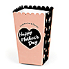 Best Mom Ever - Personalized Mother's Day Party Popcorn Favor Treat Boxes - Set of 12