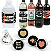 Best Mom Ever - Mother's Day Decorations & Favors Kit - Wine, Water and Candy Labels Trio Sticker Set