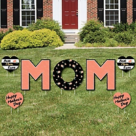 Best Mom Ever - Yard Sign Outdoor Lawn Decorations - Mother's Day Yard Signs