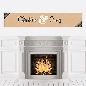 Better Together - Personalized Wedding Banner