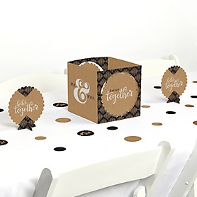 Better Together - Wedding or Bridal Shower Centerpiece and Table Decoration Kit