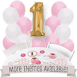 Birthday Party Confetti & Balloon Party Decorations - Combo Kits