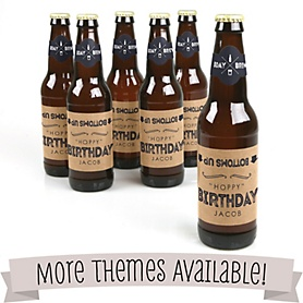 Birthday Party Beer Bottle Labels