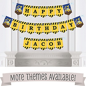 Birthday Party Bunting Banners