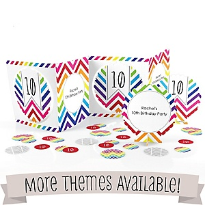 Birthday Party Centerpiece & Table Decoration Kit