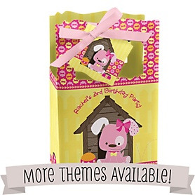 Birthday Party Personalized Favor Boxes