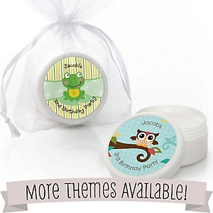 Birthday Party Personalized Lip Balms