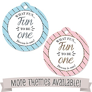 Birthday Party Personalized Tags