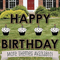 Birthday party favors and do it yourself bigdotofhappiness birthday party yard sign lawn ornament decorations solutioingenieria Choice Image