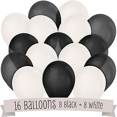 black and white bridal shower latex balloons 16 ct bigdotofhappinesscom