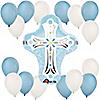 Blue Cross - Baby Shower Balloon Kit