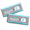 Blue Baby Elephant - Personalized Baby Shower Candy Bar Wrapper Favors