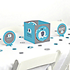 Blue Baby Elephant - Baby Shower Centerpiece & Table Decoration Kit