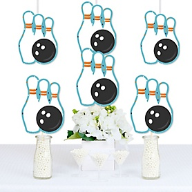Strike Up the Fun - Bowling - Decorations DIY Baby Shower or Birthday Party Essentials - Set of 20