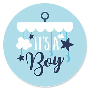 It's a Boy - Blue Baby Shower Theme