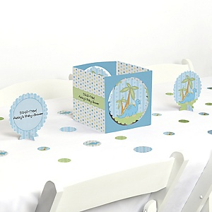 Baby Boy Dinosaur - Baby Shower Centerpiece & Table Decoration Kit