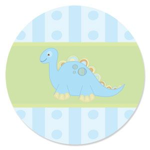 Baby Boy Dinosaur Personalized Baby Shower Invitations
