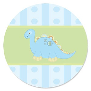 Baby Boy Dinosaur - Baby Shower Theme