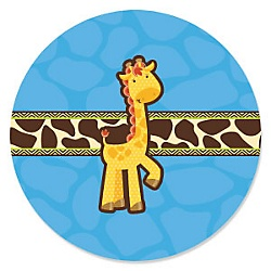 Giraffe Boy Baby Shower Theme Bigdotofhappinesscom