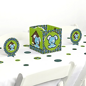 Boy Puppy Dog - Baby Shower or Birthday Party Centerpiece and Table Decoration Kit