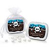 Skullitude™ - Baby Boy Skull - Personalized Baby Shower Mint Tin Favors