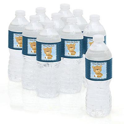 Personalized Baby Shower Water Bottle Labels Babyshowerstuff
