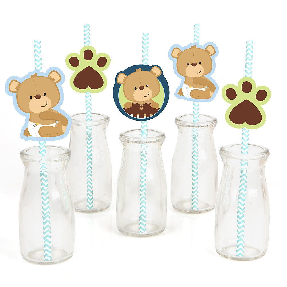 Baby Boy Teddy Bear Baby Shower Decorations Theme