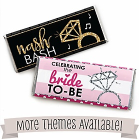 Bridal Shower Personalized Candy Bar Wrappers