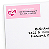 Bride-To-Be - Personalized Bridal Shower or Classy Bachelorette Party Return Address Labels - 30 ct