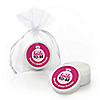 Bride-To-Be - Personalized Bridal Shower or Classy Bachelorette Party Lip Balm Favors - Set of 12