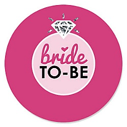 bride to be bridal shower or classy bachelorette party theme