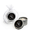 Bride Tribe - Personalized Bachelorette Party & Bridal Shower Candle Tin Favors - Set of 12
