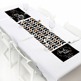 Bride Tribe - Personalized Bachelorette Party & Bridal Shower Table Runner