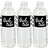 Bride Tribe - Bridal Shower or Bachelorette Party Water Bottle Sticker Labels - Set of 20
