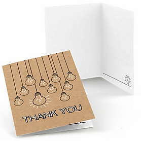 Bright Future - Graduation Party Thank You Cards - 8 ct