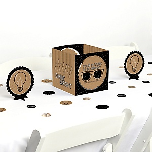 Bright Future - Graduation Party Centerpiece & Table Decoration Kit