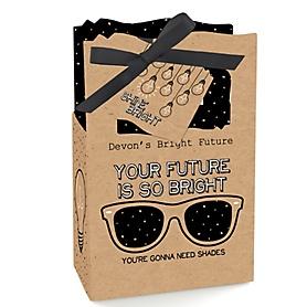 Bright Future - Personalized Graduation Favor Boxes - Set of 12