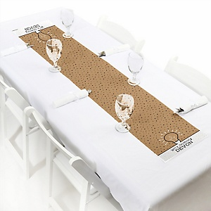 Bright Future  - Personalized Graduation Party Petite Table Runner