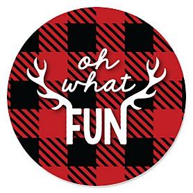 Prancing Plaid - Buffalo Plaid Holiday Party Theme